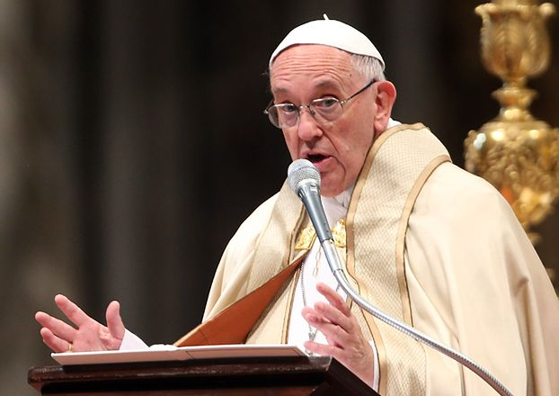 """Papież Franciszek: """"Święta stały się zakładnikiem materializmu. Musimy je uwolnić!"""""""