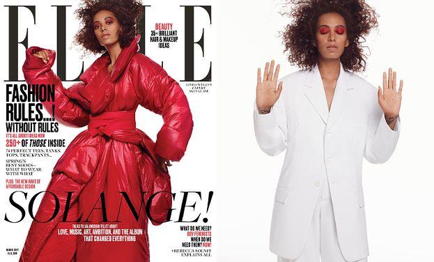 "Solange Knowles na okładce ""Elle"""