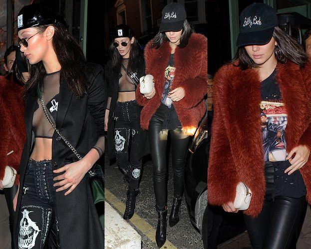 Kendall i Bella imprezują razem w Londynie