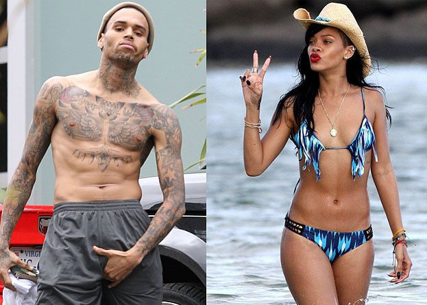 Rihanna i Brown NIE ROZMAWIAJĄ ZE SOBĄ!