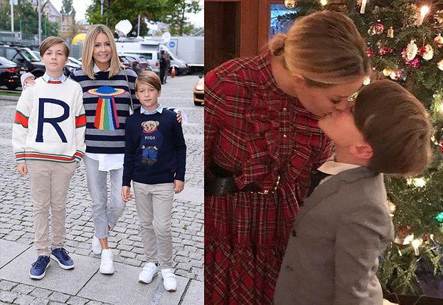 """Starszy syn Małgorzaty Rozenek ma dziewczynę! """"Była już nawet u nas w domu"""""""