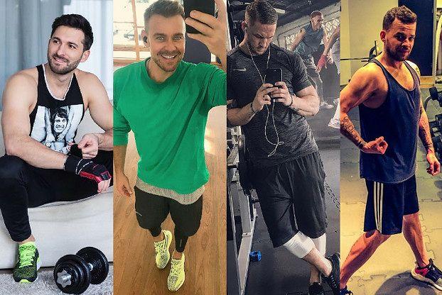 Męskie buty na siłownię - jakie wybierają celebryci?