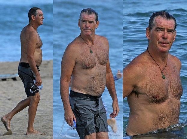 Pierce Brosnan odpoczywa na Hawajach (ZDJĘCIA)