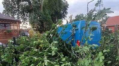 Nawałnica w gminie Gniew. Straty są szacowane na kilkaset tysięcy złotych