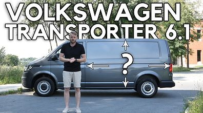 Volkswagen Transporter 6.1 - punkt widzenia zależy od punktu mierzenia