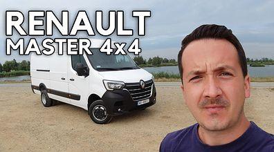 Renault Master 4x4 - dostawczak na bezdroża