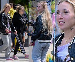 Odmieniona Marta Linkiewicz chwali się drogą torebką, skarpetkami i klapkami w Sopocie (FOTO)