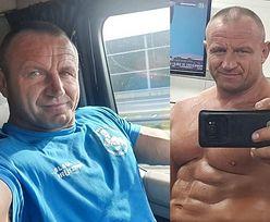 """Pudzian robi sobie selfie na drodze szybkiego ruchu, internauta zawiadamia policję. """"NIE ZABŁYSŁEŚ TYM RAZEM"""""""