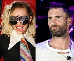 """Adam Levine odejdzie z """"The Voice"""" przez Miley Cyrus? """"Nie może znieść jej obecności"""""""