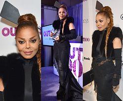 Janet Jackson z łopatką w koku