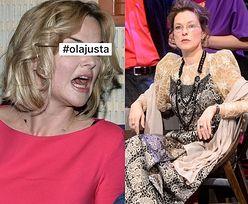 Wiecie, co obserwuje na Instagramie Monika Zamachowska? Hashtag #olajusta...