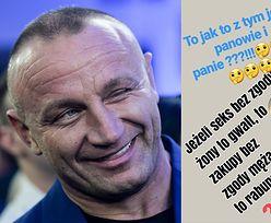 """Mariusz Pudzianowski porównał... gwałt do zakupów! Fani oburzeni: """"Komuś chyba sterydy wlały się do mózgu"""""""
