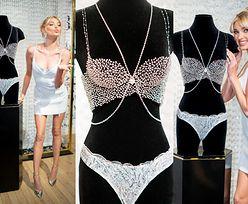 """""""Aniołek"""" Victoria's Secret zaprezentował tegoroczny """"fantasy bra"""" za 4 MILIONY (ZDJĘCIA)"""