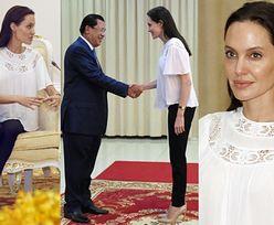 Angelina Jolie spotkała się z premierem Kambodży (ZDJĘCIA)