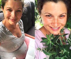 """Agnieszka Sienkiewicz pokazała brzuch po ciąży: """"Wiem, że nie odpowiada instagramowym standardom, ale wciągnąć się nie daje"""""""