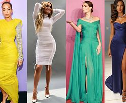 Sukienki bandażowe w stylizacjach gwiazd