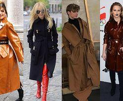 Jakie wiosenne płaszcze noszą celebrytki? 5 propozycji