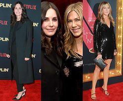 Courteney Cox wspiera Jennifer Aniston na hollywoodzkiej premierze