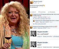 Wesołe statusy Magdy Gessler na koniec roku