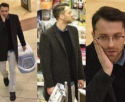 Filip Bobek kupuje kuwetę dla kota (ZDJĘCIA)