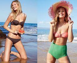 Była dziewczyna DiCaprio pozuje w kostiumach kąpielowych