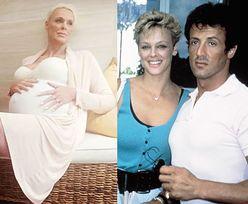 54-letnia (!) była żona Sylvestra Stallone'a JEST W CIĄŻY! (FOTO)
