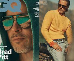 """Uprażony słońcem Brad Pitt szczerze o problemach z wiarą: """"Zawsze kwestionowałem chrześcijaństwo. Byłem agnostykiem, później ateistą"""""""
