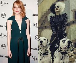 Emma Stone zagra Cruellę de Mon. Na zdjęciach z planu jest nie do poznania (FOTO)