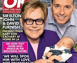 Elton John i jego partner pokazali synka! (FOTO)