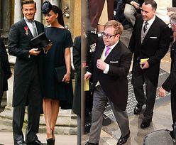 Beckhamowie i Elton John NA KRÓLEWSKIM ŚLUBIE! (PIERWSZE ZDJĘCIA!)