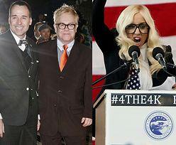 GaGa zostanie... chrzestną synka Eltona Johna?!