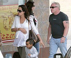Angelina Jolie w Namibii