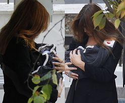 Carla Bruni z córką! (ZDJĘCIA)