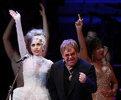 Elton John potwierdza: GaGa będzie chrzestną jego syna!