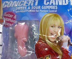 Miley Cyrus sprzedaje żelkowe penisy?