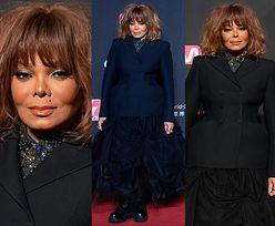 Janet Jackson w mrocznej stylizacji i zmierzwionej peruce