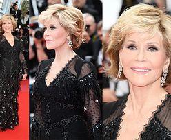80-letnia Jane Fonda zachwyca na czerwonym dywanie w Cannes! (FOTO)