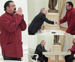 Putin dał Stevenowi Seagalowi rosyjski paszport... (ZDJĘCIA)