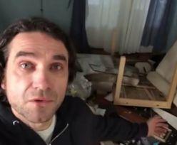 """Marcin Dorociński pokazał zdewastowane mieszkanie. """"Jak można zrobić coś takiego?!"""""""
