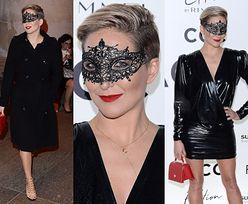 """Wyuzdana Magda Steczkowska bawi się na imprezie marki Zaquad w masce z """"50 twarzy Grey'a"""""""
