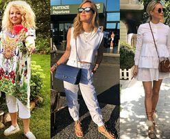 Buty na plecionej podeszwie - jakie noszą celebrytki?