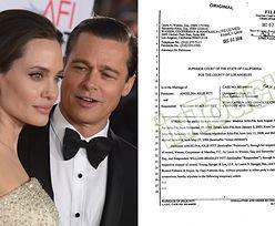 Angelina i Brad podpisali dokumenty o opiece nad dziećmi! BRAD MUSI SIĘ BADAĆ NA OBECNOŚĆ NARKOTYKÓW...