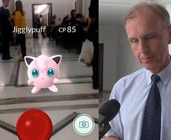"""Sprawdziliśmy: W Sejmie można łapać Pokemony. Klich: """"Jestem na bieżąco!"""""""
