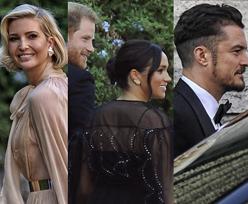 Meghan Markle w prześwitującej sukience i elegancki książę Harry imprezują w Rzymie bez Archiego (FOTO)