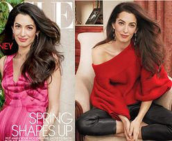 "Naturalna Amal Clooney w sesji dla ""Vogue'a"""