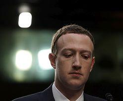 """Mark Zuckerberg przeprasza za wyciek danych użytkowników Facebooka: """"To był MÓJ BŁĄD"""""""