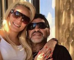 Diego Maradona POBIŁ swoją dziewczynę!