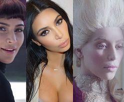 Kim Kardashian zagrała... Audrey Hepburn i Marię Antoninę!