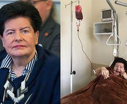 """Joanna Senyszyn pozdrawia ze szpitala: """"Miałam wstawienie endoprotezy"""""""