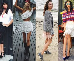 Stylowa koronkowa spódnica - z czym ją nosić?